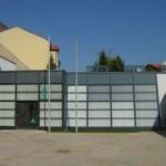 Lüftungsanlage für moderne Ausstellung
